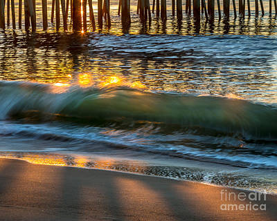 Photograph - Pier And Surf by Susan Cole Kelly