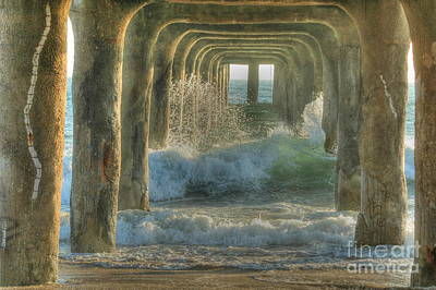 Photograph - Pier Arches by Richard Omura