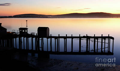 Bodega Bay Photograph - Pier At Bodega Bay California by Bob Christopher