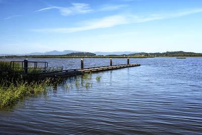 Photograph - Pier At Fern Ridge Lake by Belinda Greb
