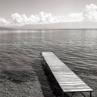 Photograph - Pier At Lake Ohrid by For Ninety One Days
