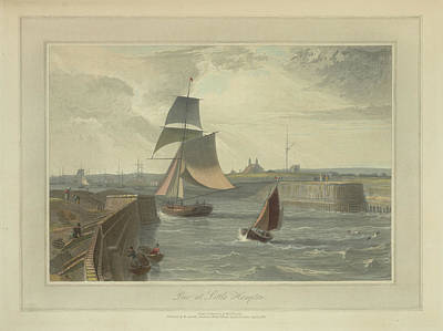 Pier At Littlehampton Art Print by British Library
