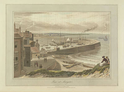Pier At Margate Art Print by British Library