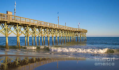 Photograph - Pier At Myrtle Beach by Rima Biswas