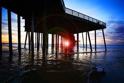Pier At Sunset Original