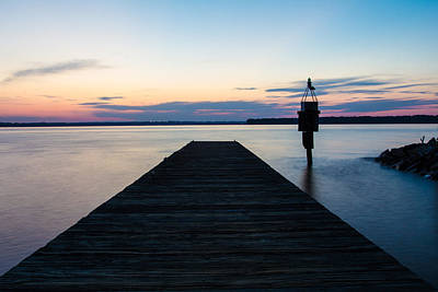 Photograph - Pier At Sunset by Leah Palmer