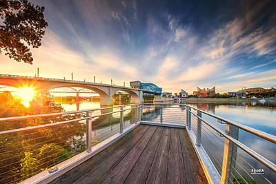 Photograph - Pier By Delta Queen In Renaissance Park by Steven Llorca