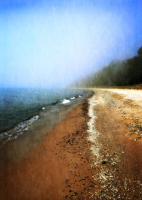 Realistic Photograph - Pier Cove Beach by Michelle Calkins