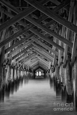 Photograph - Pier by David Waldrop