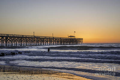 Photograph - Pier Dawn II by David Waldrop