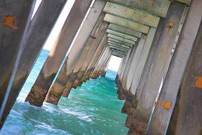 Photograph - Pier by Gary Dunkel