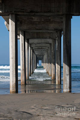 Photograph - Pier Geometry by Ana V Ramirez