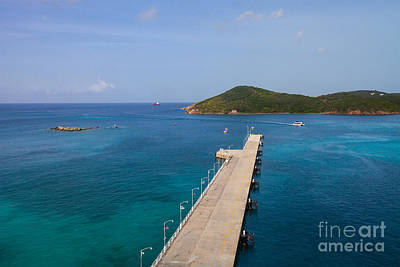 Photograph - Pier In Paradise by Diane Macdonald