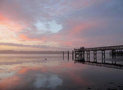 Photograph - Pier In Pink by Suzy Piatt