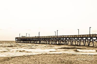 Photograph - Pier In South Carolina by Jill Lang
