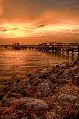 Photograph - Pier In The Ocean by Celso Diniz