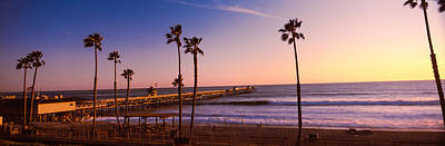 San Clemente Beach Photograph - Pier In The Pacific Ocean, San Clemente by Panoramic Images