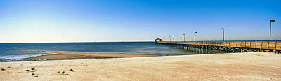 Biloxi Photograph - Pier In The Sea, Biloxi, Mississippi by Panoramic Images