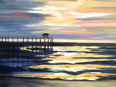Painting - Pier by Joanne Killian