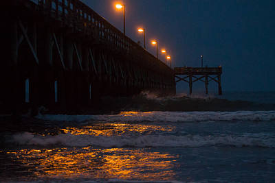 Photograph - Pier Love by Jessica Brown