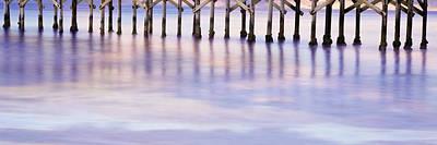 Gaviota Photograph - Pier On Beach, Gaviota State Beach by Panoramic Images