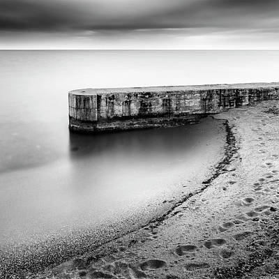 Pier Wall Art - Photograph - Pier On The Beach by George Digalakis