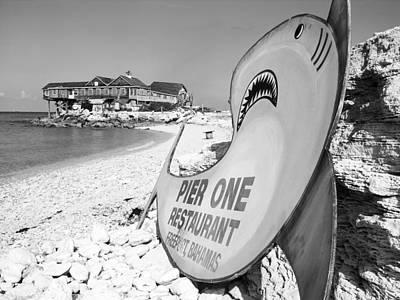 Bahamas Pier Photograph - Pier One by Ramunas Bruzas