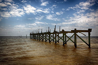 Photograph - Pier One by Sennie Pierson