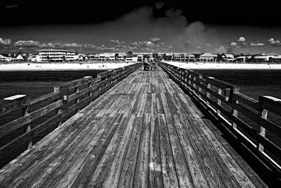 Photograph - Pier Perspective by George Taylor