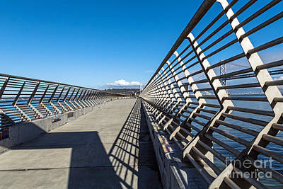 Art Print featuring the photograph Pier Perspective by Kate Brown
