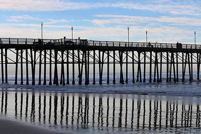 Photograph - Pier Reflections  by Christy Pooschke