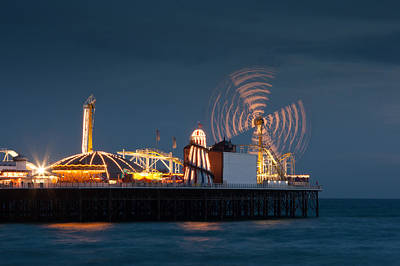 Photograph - Pier Resplendant by Jacqui Collett