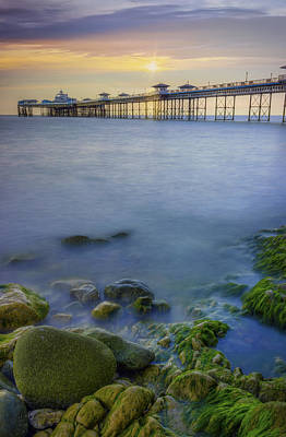Photograph - Pier Sunrise by Ian Mitchell
