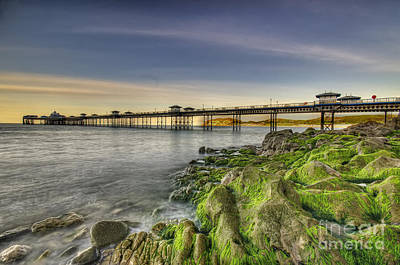 Everett Collection - Pier Sunset by Darren Wilkes