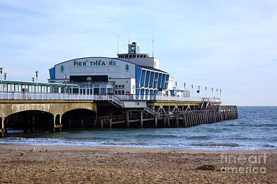 Photograph - Pier Theatre Bournemouth by Terri Waters