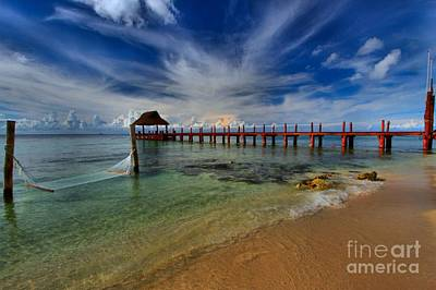 Photograph - Pier To Paradise by Adam Jewell