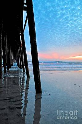 Photograph - Pier Under by Bridgette Gomes