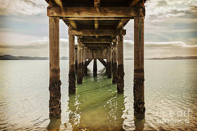 Pier Under Print by Colin and Linda McKie