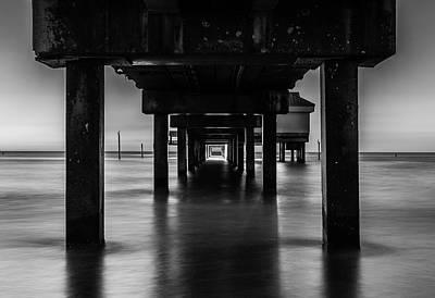Pier Under II Art Print