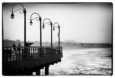 Photograph - Pier View by John Rizzuto