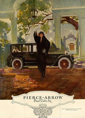 Pierce-arrow  1920s Usa Cc Cars Pierce Art Print by The Advertising Archives