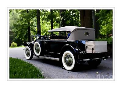 Photograph - Pierce Arrow Convertible by Marcia Lee Jones