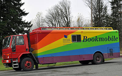 Photograph - Pierce County Bookmobile by Tikvah's Hope