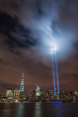 911 Memorial Photograph - Pierce The Sky by Kristopher Schoenleber