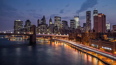Art Print featuring the photograph Piercing Manhattan by Mihai Andritoiu