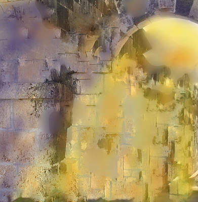Digital Art - Piercing The Castle Walls by Ian  MacDonald