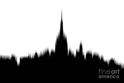 Abstract Skyline Rights Managed Images - Piercing The Sky Royalty-Free Image by Az Jackson