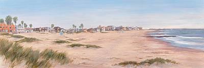 Pierpont Sand Dunes Print by Tina Obrien