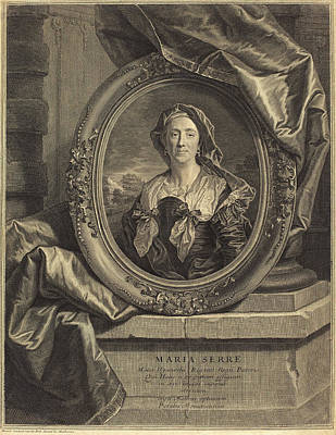 Pierre Drevet After Hyacinthe Rigaud French Art Print