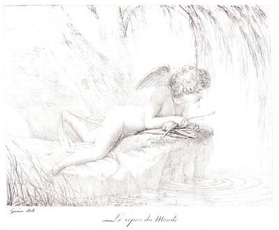 Pierre Guérin French, 1774 - 1833. Le Repos Du Monde Art Print by Litz Collection